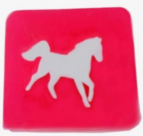 Horse - Strawberry Fragrance Handmade Soap min 100g
